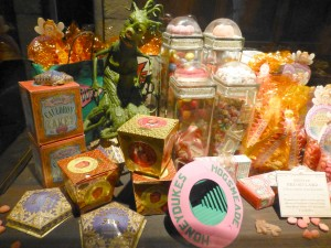 Friandises Harry Potter expo, les aventures de Julie