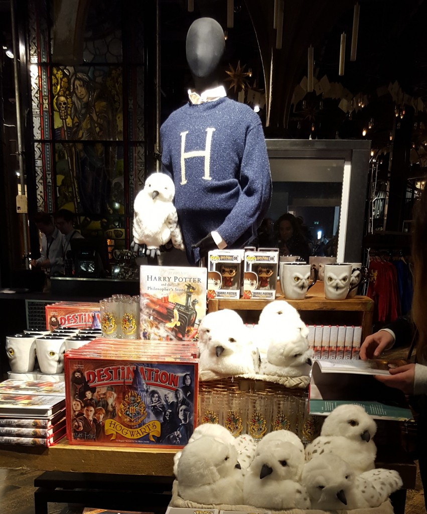 Boutique Harry Potter Londres - lesaventuresdejulie.com