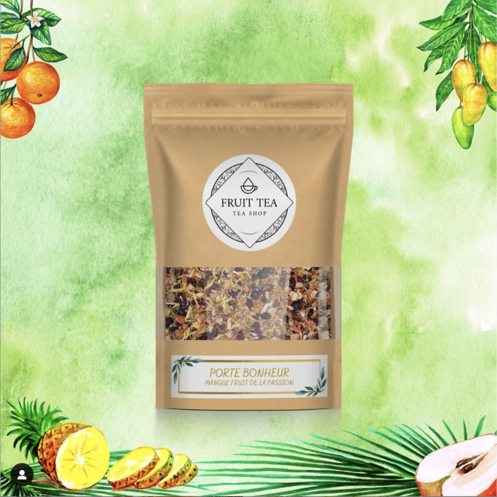 Fruit Tea - code de réduction -15% - Porte bonheur - lesaventuresdejulie.com